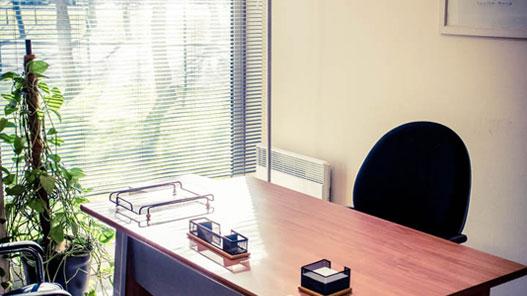 bureau réservé